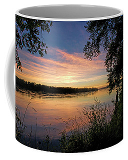 Coffee Mug featuring the photograph Afterglow by Cricket Hackmann
