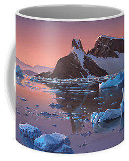 Afterglow Lemarie Channel Antarctica Coffee Mug