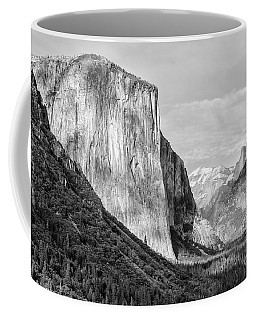 Coffee Mug featuring the photograph Afternoon At El Capitan by Sandra Bronstein
