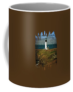 Afternoon At The Yaquina Head Lighthouse Coffee Mug