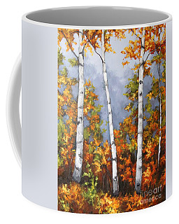Afternoon Birches Coffee Mug
