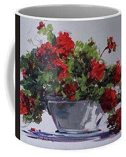 Afternoon Geraniums Coffee Mug