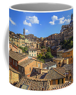 Coffee Mug featuring the photograph Afternoon In Siena by Spencer Baugh