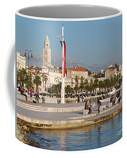 Coffee Mug featuring the photograph Afternoon In Split - Croatia  by Phil Banks