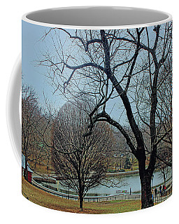 Afternoon In The Park Coffee Mug by Sandy Moulder