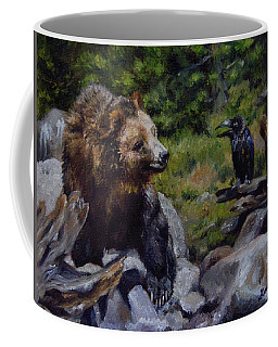 Afternoon Neigh-bear Coffee Mug