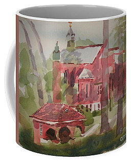 Coffee Mug featuring the painting Afternoon Shadows W403 by Kip DeVore