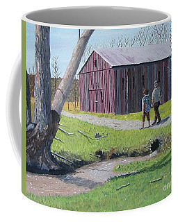 Afternoon Stroll Coffee Mug