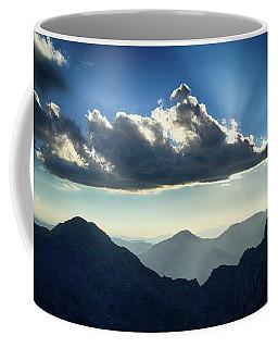 Afternoon Sunburst Coffee Mug by Marie Leslie