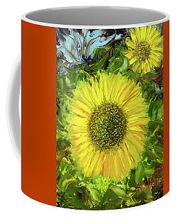 Afternoon Sunflowers Coffee Mug