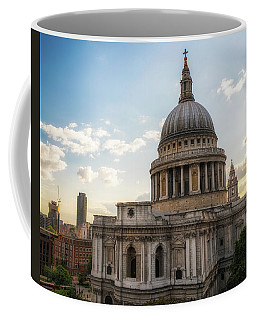 Coffee Mug featuring the photograph Afternoon View Of St. Paul's Cathedral by James Udall