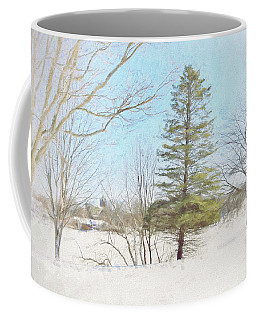 Against The Elements Coffee Mug by Tricia Marchlik