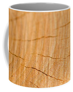 Coffee Mug featuring the photograph Against The Grain by Christina Rollo