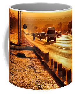 Against The Road Coffee Mug
