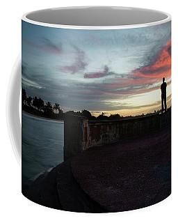 Against The Sky Coffee Mug