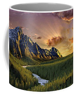 Against The Twilight Sky Coffee Mug