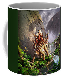 Against The Wall Coffee Mug