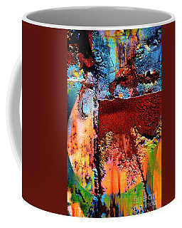 Aged Railroad Sign Paint - 2 Coffee Mug by Paul W Faust - Impressions of Light
