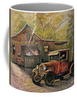 Agent's Visit Coffee Mug