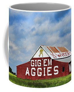 Aggie Nation Barn Coffee Mug