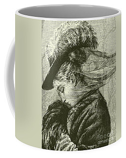 Agnes Holds Her Warm Muff To Her Face Coffee Mug