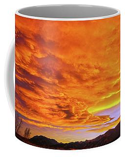 Agni, The Vedic Fire God Of Hinduism  Coffee Mug by Bijan Pirnia