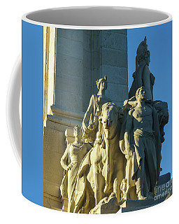 Coffee Mug featuring the photograph Agriculture Allegorie Monument To The Constitution Of 1812 Cadiz Spain by Pablo Avanzini