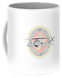 Coffee Mug featuring the digital art Ah-1z Viper Usmc by Arthur Eggers