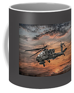 Ah-64 Apache Attack Helicopter Coffee Mug