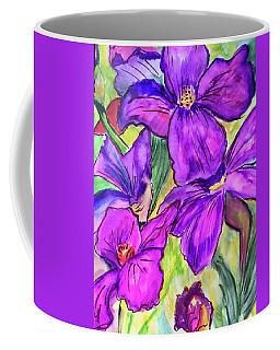 Ah, Iris Coffee Mug