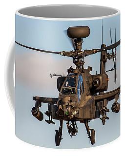 Ah64 Apache Flying Coffee Mug by Ken Brannen