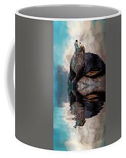 Ahhhhhhhh Coffee Mug by Cyndy Doty