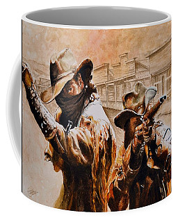 Ain't No Law Coffee Mug by Traci Goebel