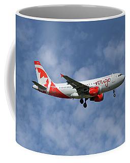 Air Canada Rouge Airbus A319-114 1 Coffee Mug