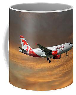 Air Canada Rouge Airbus A319-114 3 Coffee Mug