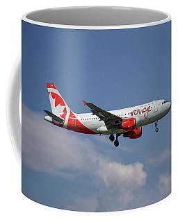 Air Canada Rouge Airbus A319-114 4 Coffee Mug