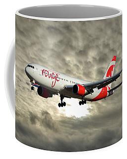 Air Canada Rouge Boeing 767-333 115 Coffee Mug