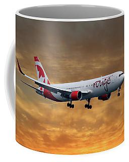 Air Canada Rouge Boeing 767-333 2 Coffee Mug