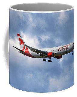 Air Canada Rouge Boeing 767-35h 118 Coffee Mug