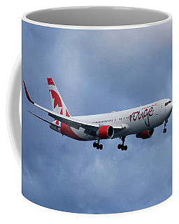 Air Canada Rouge Boeing 767 Coffee Mug