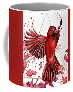 Air Cardinal Coffee Mug