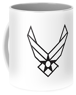 Air Force Logo Coffee Mug