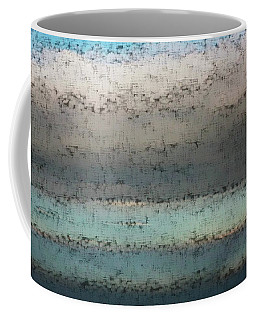 Coffee Mug featuring the photograph Airborn Blues by Ellen O'Reilly