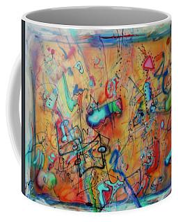 Digital Landscape, Airbrush 1 Coffee Mug