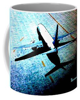 Airplane Tactics Coffee Mug by Sadie Reneau