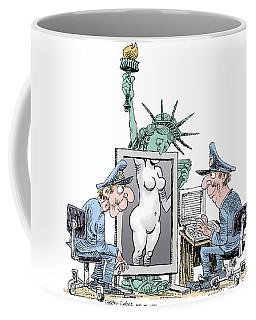 Airport Security And Liberty Coffee Mug