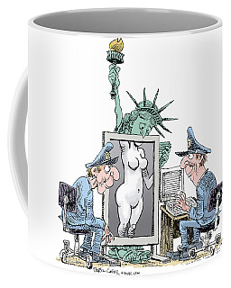 Airport Security And Liberty Coffee Mug