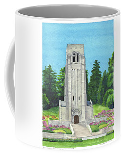 Coffee Mug featuring the painting Aisne-marne American Cemetery by Betsy Hackett