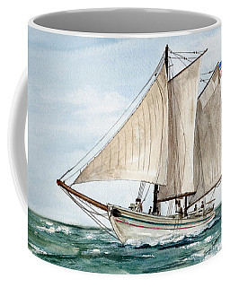 Coffee Mug featuring the painting Aj Meerwald  by Nancy Patterson