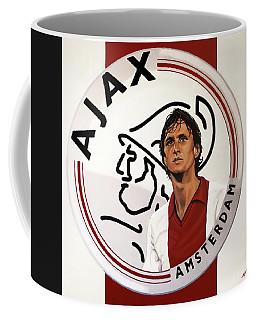 Ajax Amsterdam Painting Coffee Mug